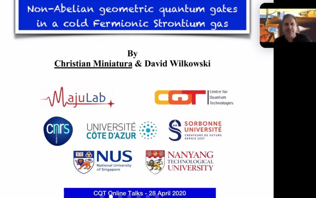 CQT Online Talk by Christian Miniatura