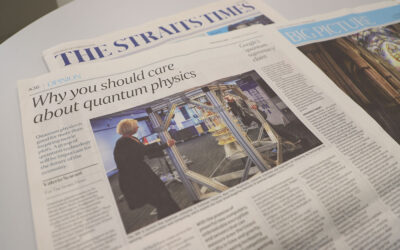 The Straits Times: Why you should care about quantum physics